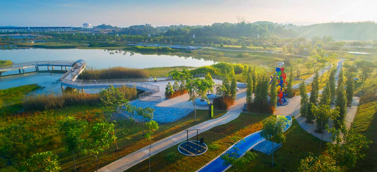 Overview of Wetland Park