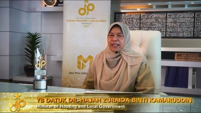 YB Datuk Dr. Hajah Zuraida Binti Kamaruddin - Minister of Housing & Local Government's Speech
